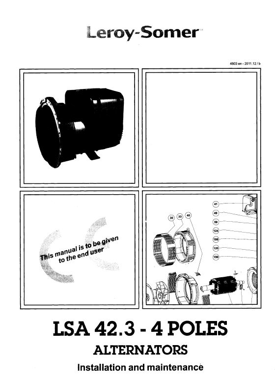 LSA 42 3 - 4 POLES